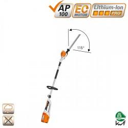 HLA 65 akumuliatorinės žirklės gyvatvorėms